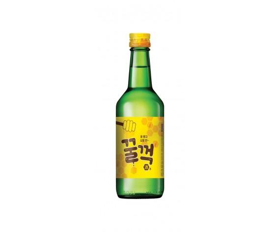 GULP GULP HONEY SOJU | ALC. 9.2% BY VOL. | 360ML | 韩国烧酒(蜜糖口味) | KR