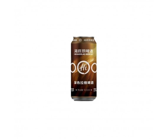HAI DI LAO DARK LAGER BEER | 500ML | 海底捞深色拉格啤酒 | CN
