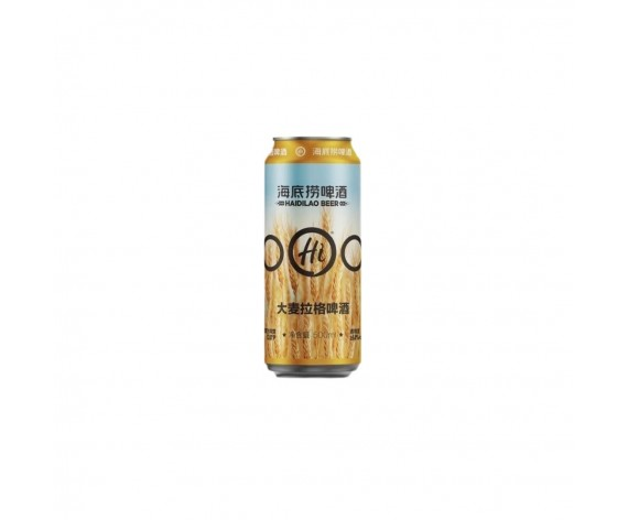 HAI DI LAO AMBER LAGER BEER | 500ML | 海底捞大麦拉格啤酒 | CN