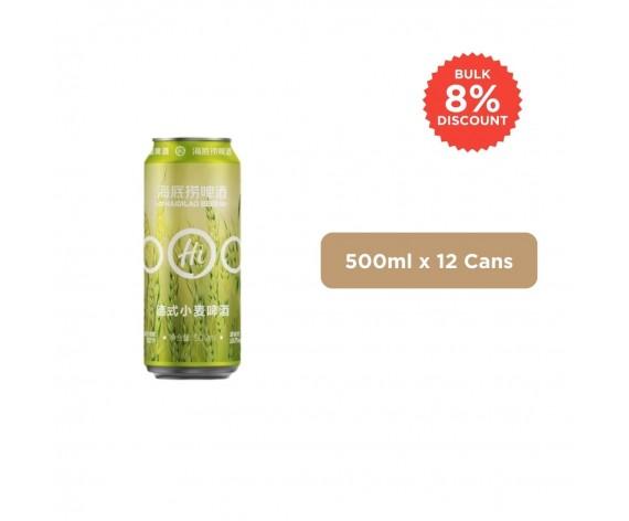 HAI DI LAO WEISSBIER | 500ML X 12CANS | 海底捞德式小麦啤酒 | CN