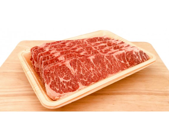 USDA SELECT BEEF SHORT RIB | BONELESS | YAKINIKU SLICED 0.5CM | 500G/PKT | 雪花烧烤牛肉片 | US