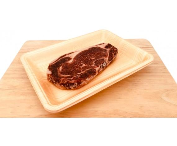 FROZEN BEEF STRIPLOIN | STEAK CUT | 2.0CM THICK | BONELESS | ±250GM/PKT | 西冷牛排 | DK (GREEN)