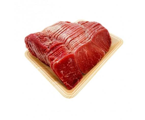 BEEF SHABU SLICED   EYE ROUND   GRADE A   1KG/PKT   火锅牛眼圆肉片   US