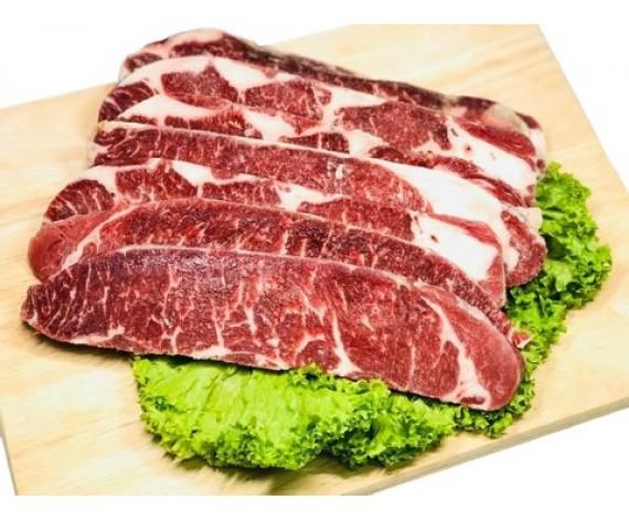 USDA CHOICE BEEF SHORT RIB | BONELESS | 1CM THICK | 1KG/PKT | 牛仔无骨切1厘米 | US