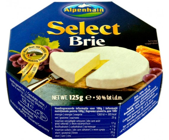 ALPENHAIN SELECT BRIE CHEESE | 125GM/PKT | 布里奶酪 | DE