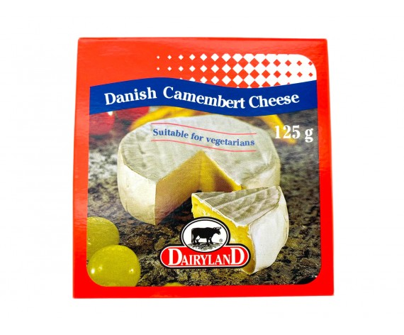 DAIRYLAND DANISH CAMEMBERT CHEESE | 125GM/PKT | 卡门培尔奶酪 | DK