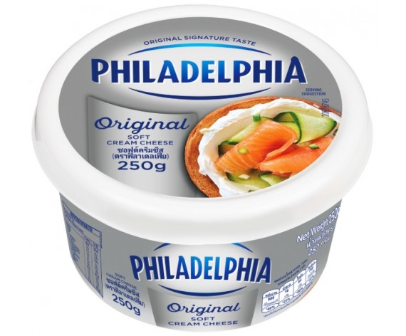 KRAFT PHILADELPHIA ORIGINAL SOFT CREAM CHEESE | 250GM/TUB | 费城奶油软奶酪 | AU