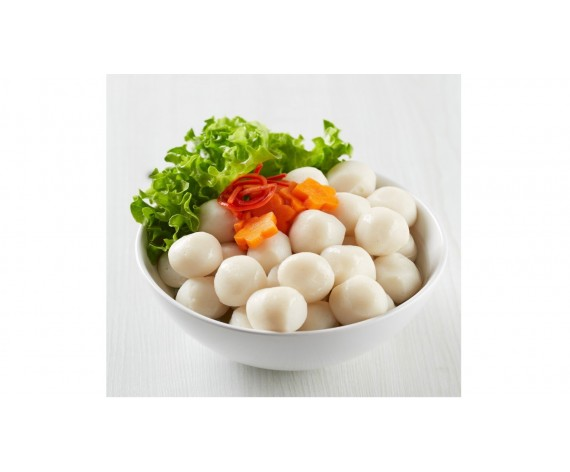PREMIUM WHITE FISH BALL | 22-25'S | 500GM/PKT | 上等白鱼丸 | SG