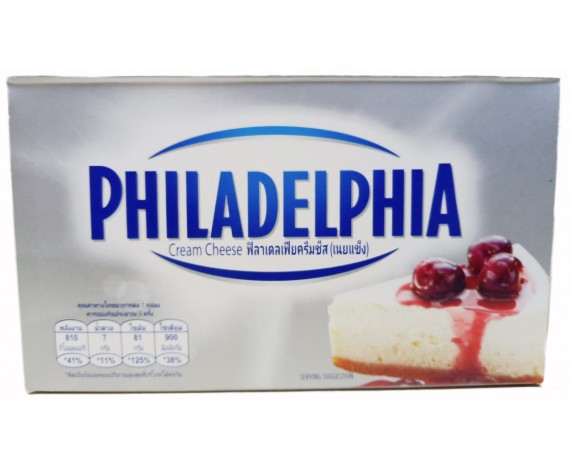 KRAFT PHILADELPHIA CREAM CHEESE | BLOCK | 250GM/PKT | 费城奶油奶酪 | AU