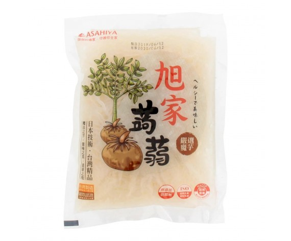 ASAHIYA KONJAC GLASS NOODLES | 300GM | 旭家素食蒟弱春雨冬粉 | TW