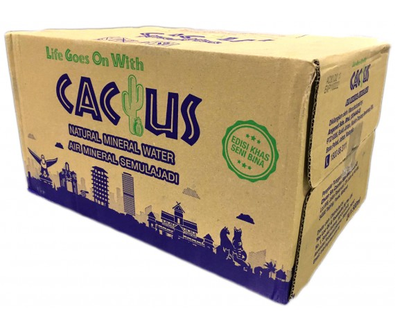 CACTUS NATURAL MINERAL WATER | 24X500ML/CTN | 仙人掌牌矿泉水 | MY