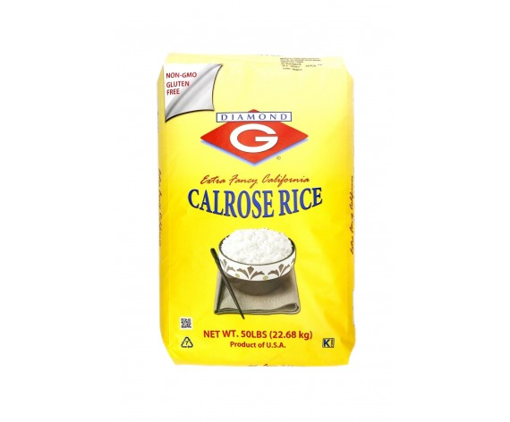 DIAMOND G CALROSE RICE | 22.68KG/PKT | 珍珠米 | US