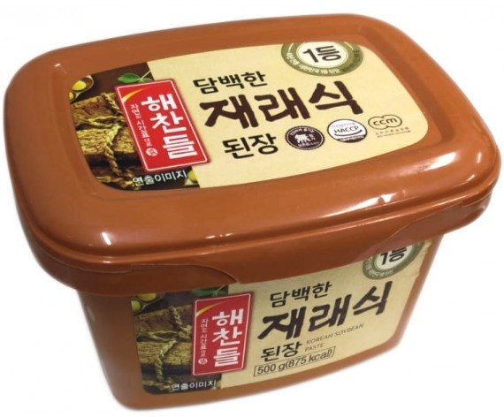 HAE CHAN DEUL DOENJANG | SOYA BEAN PASTE | 500GM/TUB | 韩国黄豆酱 | KR