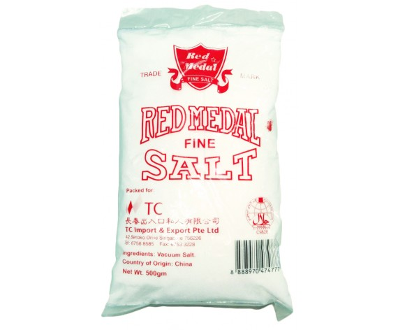 COOKING SALT (FINE) (500GM/PKT) 食盐 (CN)