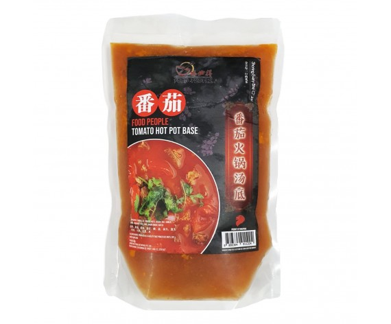 FOOD PEOPLE TOMATO HOTPOT SOUP BASE | 1KG/PKT | 福必得番茄火锅汤底 | SG