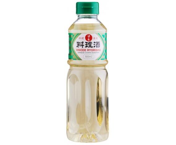 HINODE RYORISHU   COOKING SAKE WITH SALT   500ML/BTL   日式料理酒(带盐)   SG