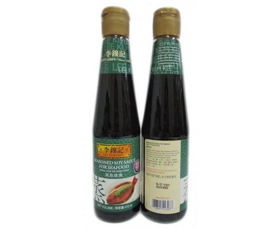 LEE KUM KEE SEASONED SOY SAUCE FOR SEAFOOD | 410ML/BTL | 蒸鱼豉油 | CN