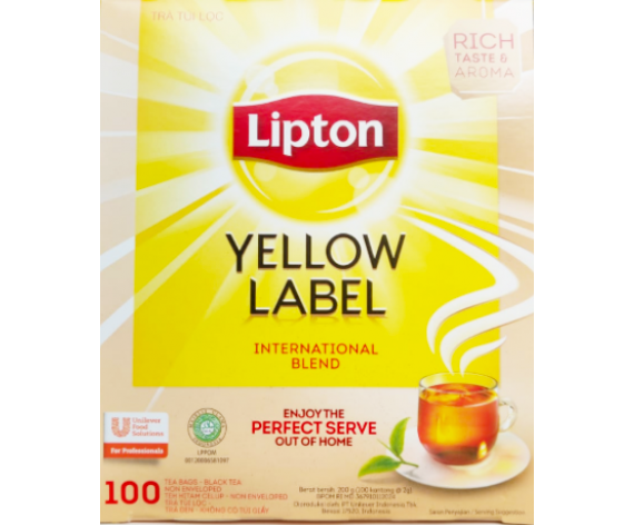 LIPTON ENGLISH BREAKFAST TEA (100SACHET/PKT) 红茶 (ID)