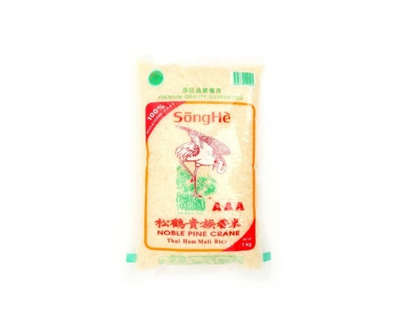 SONGHE NOBLE PINE CRANE RICE | 1KG/PKT | 松鹤贵族香米 | TH