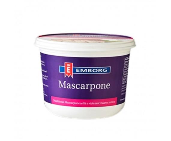 EMBORG MASCARPONE CHEESE | 500GM/TUB | 欧洲马斯卡布尼奶酪 | IT