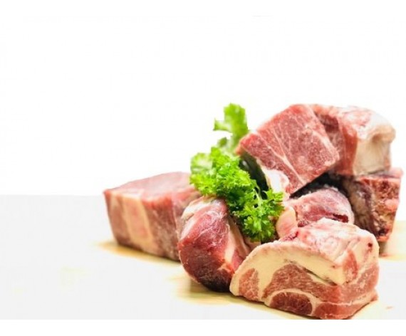 MUTTON CUBE BONE IN (1KG/PKT) 带骨羊肉切丁 (AU)