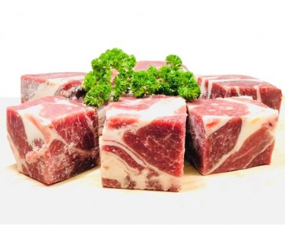 MUTTON CUBE BONELESS (1KG/PKT) 去骨羊肉切丁 (AU)