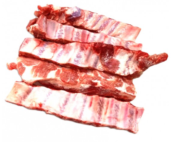 PORK BACK STRIPS (1KG/PKT) 猪子弹排 (BR)