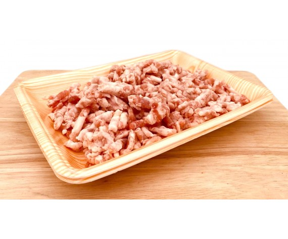 PORK BELLY MINCED | 50% LEAN | 1KG/PKT | 猪肉碎 | USA