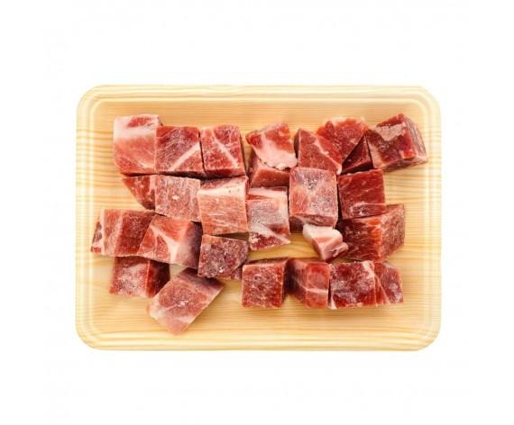 PREMIUM PORK COLLAR CUBE CUT | 500GM/PKT | 上等美国猪颈肉切丁 | US