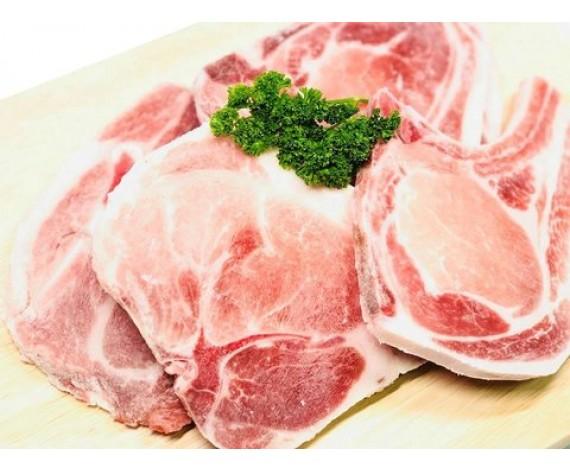 PORK CHOP BONE-IN SLICED (1KG/PKT) 带骨猪大排