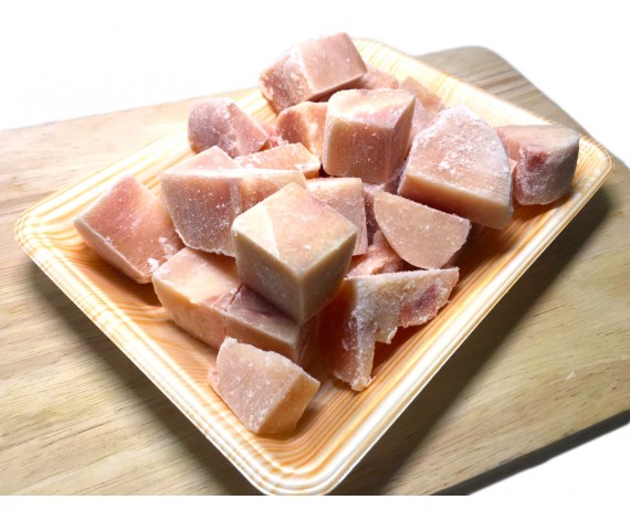 CHICKEN BREAST | SKINLESS | BONELESS | 3X3CM CUBE CUT | 1KG/PKT | 无皮鸡胸肉切块 | BR
