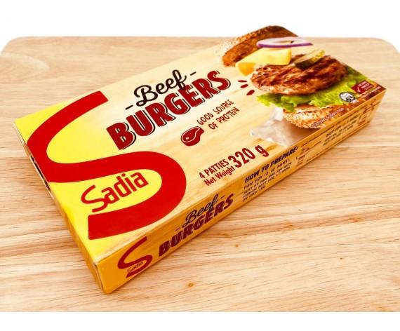 BEEF BURGERS | 4PCS | 320GM/PKT | 牛肉汉堡 | BR