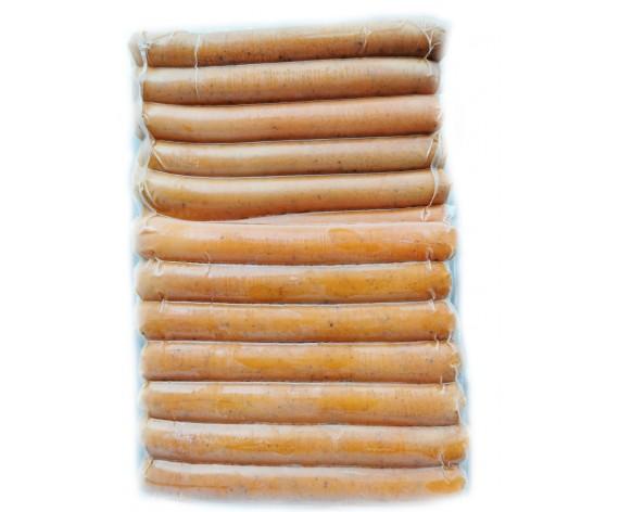 CHICKEN PEPPER SAUSAGE (1KG/PKT) 黑胡椒鸡香肠 (SG)