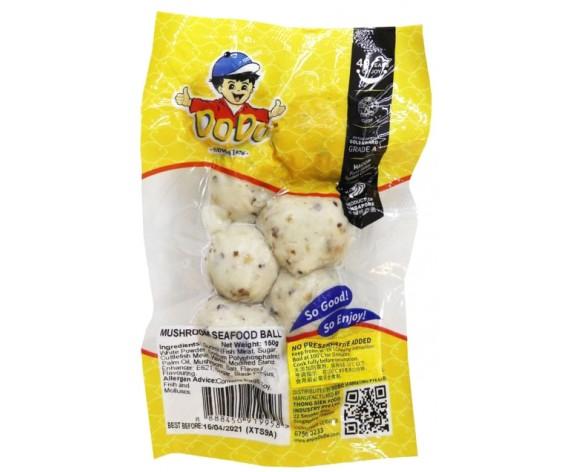 DODO MUSHROOM SEAFOOD BALL | 7PCS | 150GM/PKT | 嘟嘟牌香菇海鲜丸 | SG