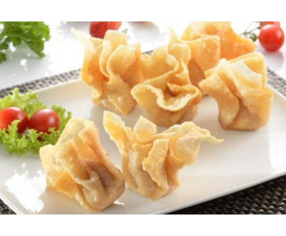 EB FRIED FISH WANTON | ±40PCS | 1KG/PKT | 更加好炸云吞 | MY