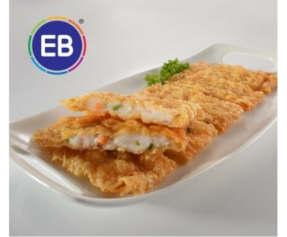 EB GOLDEN CRISPY PRAWN CAKE | 2PCS | 200GM/PKT | 更加好虾排黄金甲 | MY