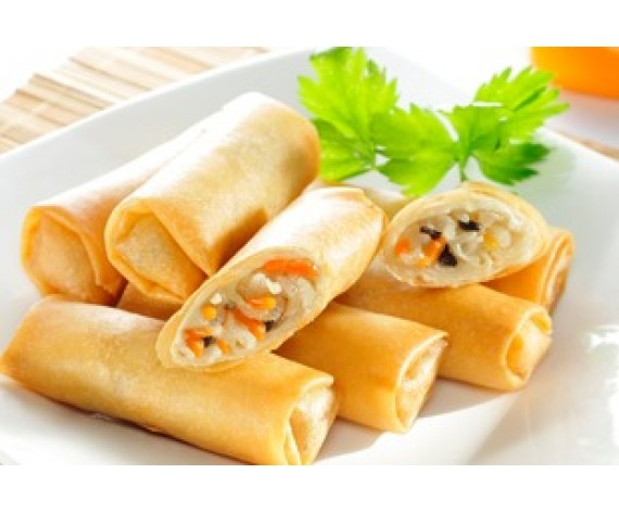 EB VEGETARIAN SPRING ROLL (M) | 20PCS | 450GM | 更加好素蔬菜春卷(中) | MY