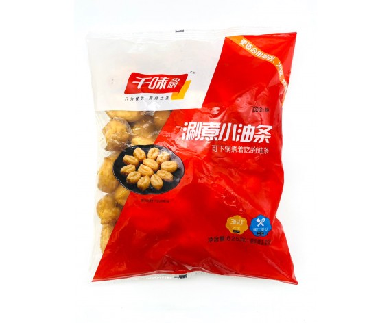 FRIED SMALL YOUTIAO | FOR HOT POT | 625GM/PKT | 涮煮小油条(涮火锅用) | SG