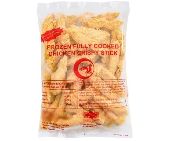 PANUS BRAND FROZEN CRISPY CHICKEN STICK | COOKED | 1KG/PKT | 冷冻酥脆鸡柳条 | TH