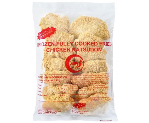 PANUS BRAND FROZEN FRIED CHICKEN KATSUDON | COOKED | 1KG/PKT | 冷冻日式炸鸡扒 | TH