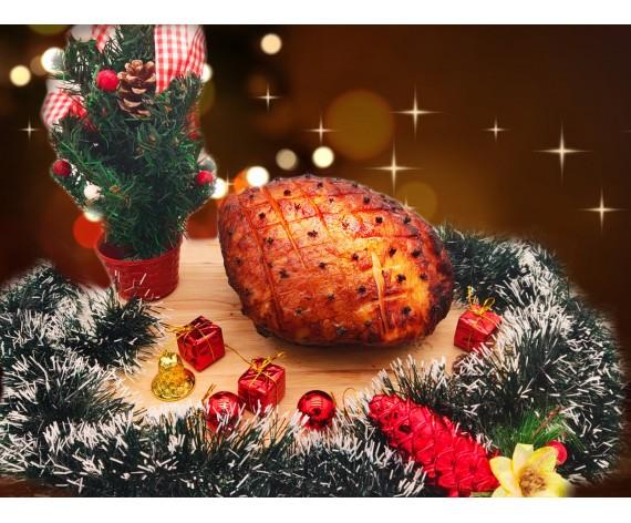 ROASTED PORK HONEY GLAZED HAM | BONELESS | 2.0-2.5KG | 烤蜜汁火腿 | SG