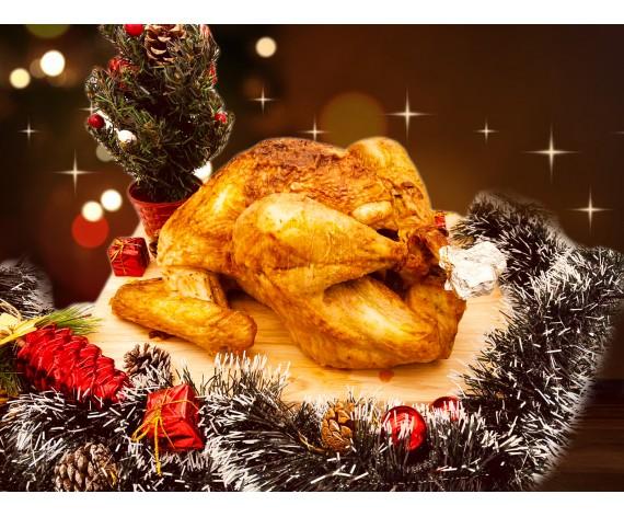 ROASTED TURKEY WHOLE | 8-10LBS | 烤火鸡 | SG