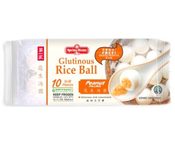 FROZEN GLUTINOUS RICE BALL | PEANUT | 10PCS | 200GM/PKT | 第一家花生汤圆 | MY