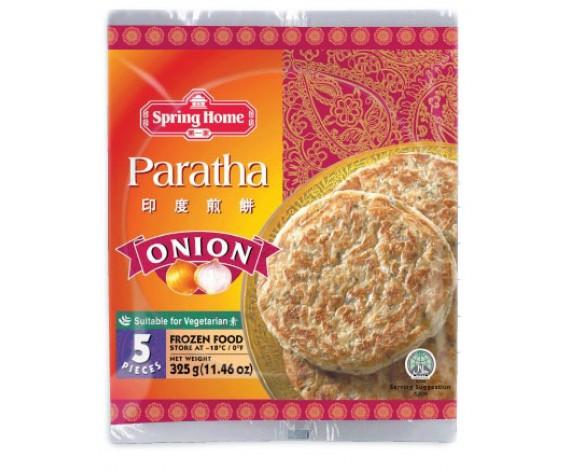 FROZEN ROTI PARATHA | ONION | 5PCS | 325GM/PKT | 第一家印度葱味煎饼 | MY