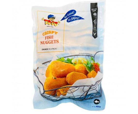 DODO BREADED CRISPY FISH NUGGETS | 400GM/PKT | 嘟嘟牌香脆炸鱼块 | SG