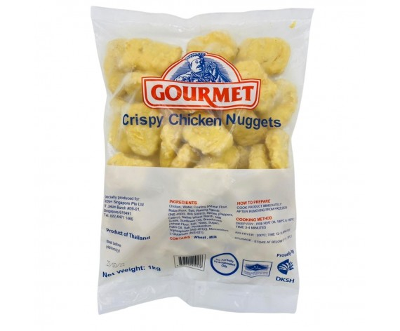 GOURMET CRISPY CHICKEN NUGGETS | 1KG/PKT | 优质炸鸡块 | TH