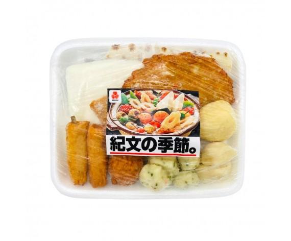 FROZEN JAPANESE STYLE MIXED ODEN   COOKED   KIBUN NO KISETSU (L)   678GM/PKT   冷冻日式鱼饼拼盘   TH