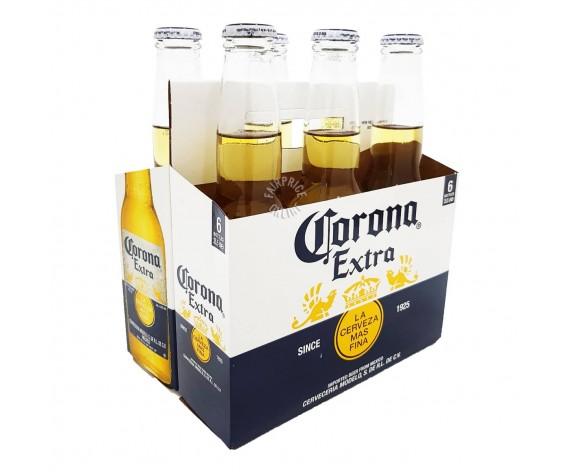 CORONA EXTRA | ALC. 4.5% BY VOL. | 6X355ML | 科罗娜啤酒| MX