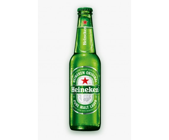 HEINEKEN | ALC. 5% BY VOL. | 330ML | 喜力啤酒| HL