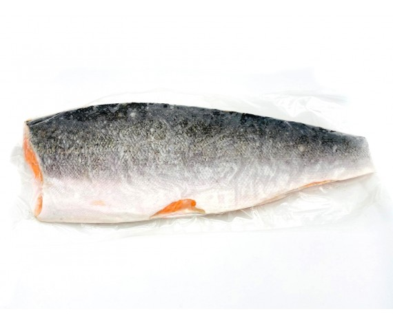SALMON FISH FILLET | WHOLE | SKIN ON | 1.0-1.2KG/PC | 带皮三文鱼 | CL (YELLOW)